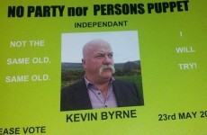 There are people running as independent candidates who can't spell 'independent'