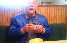 Man discovers he's going to be a grandfather, has sweetest reaction ever