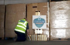 4.1 million contraband cigarettes seized at Dublin Port