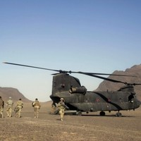 Five NATO soldiers killed in British helicopter crash in Afghanistan