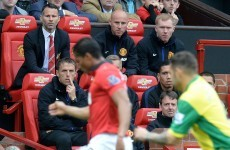As it happened: Manchester United v Norwich, Premier League