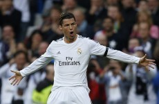 Ronaldo rasps a double as Real Madrid keep treble dreams alive