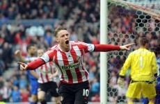 Wickham at the double as Sunderland move out of relegation zone