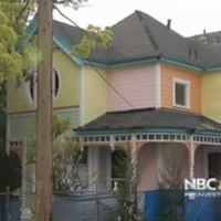 A couple have painted their house to look like the one from Up