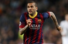 Dani Alves responds to horrible racist abuse in remarkably calm fashion