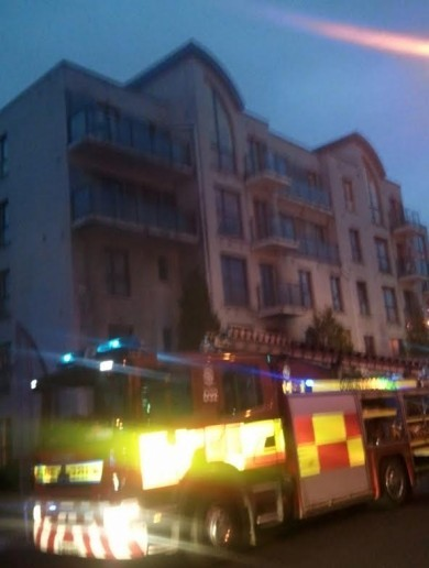 Apartments evacuated as 12 fire units respond to basement blaze in Drumcondra