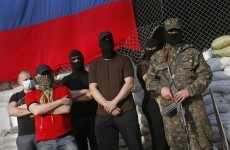 Ukraine: Pro-Russia gunmen seize town hall