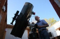 Irish man discovers a third supernova - with telescope he built himself
