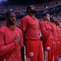 LA Clippers players stage silent protest after team owner involved in racism controversy