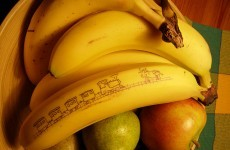 How many bananas do the Irish eat in a week?