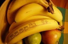 How many bananas do the Irish eat in a week?