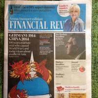 Newspaper apologises for 'World is Fukt' headline