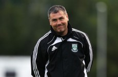 Keith Long is the new Athlone Town manager