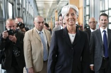 "IMF hopeful Christine Lagarde declared an ""international superstar"" by a leading economist"