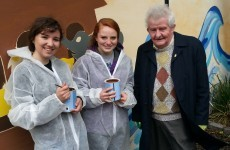 US students volunteer to fix up Dublin women's refuge