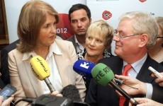 Joan Burton's response: Eamon Gilmore is the leader of the Labour Party and I support him in that.