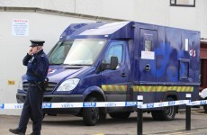 Three men arrested after cash box stolen from cash-in-transit van in Dublin