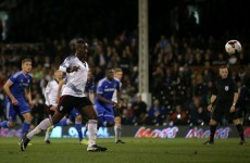 Fulham player tries cheeky Panenka in FA Youth Cup final, chips over the bar