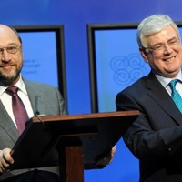 Eamon Gilmore will be hoping Europe's top MEP can ease his Labour pains