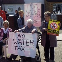 From a trickle... Water protests now springing up all over Dublin 5