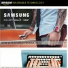 Amazon moves into wearable tech by launching dedicated store