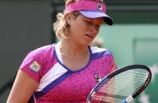 Erratic Clijsters crashes out of French Open