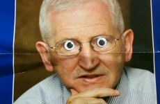 Election leaflets, vastly improved with googly eyes