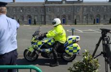 Here's how Garda Traffic bikers practice