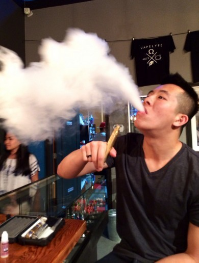 More bad news for E-Cigs: They've been banned in public places in New York