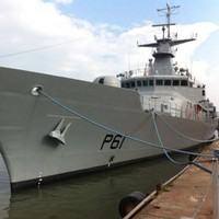 The Defence Force's newest ship has arrived in Cork