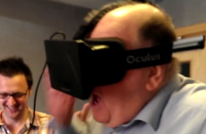 George Hook really didn't enjoy the experience of virtual reality goggles
