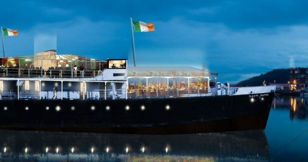 New hope for €1.86m conversion of disused CIÉ ferry into floating hostel/brewery