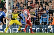 Arda Turan books Atleti's spot in the final against Real with third away goal at Chelsea