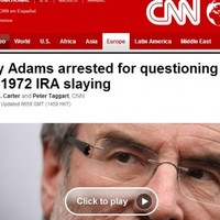 Roundup: World media outlets report on the questioning of Gerry Adams