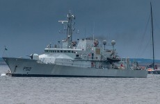 Spanish fishing vessel detained by naval service off Cork