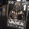 Darth Vader is running for election in Dublin*