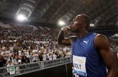 WATCH: Usain Bolt is still the fastest man on earth