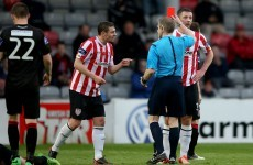 McEleney wonder strike lights up ill-tempered affair as Bohs and Derry share spoils