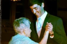 Teenager takes his great-granny to school dance - because she never had one