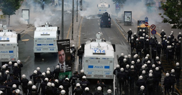 May Day protests in Turkey turn violent with 90 injuries and 142 arrests