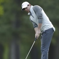 Rory McIlroy really got the putter going at Quail Hollow yesterday