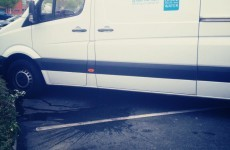The most painfully ironic photo of an Irish Water van you'll see today