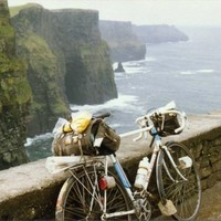 Extreme weather conditions haven't put people off visiting the Cliffs of Moher