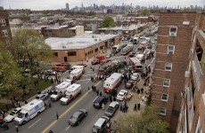 New York City subway train derails in Queens