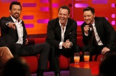 Michael Fassbender and James McAvoy were complete lads on Graham Norton last night