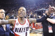 Brilliant buzzer beater sends 'Blazers to second round of NBA playoffs