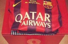 Barcelona to wear Tito Vilanova tribute on their jerseys against Getafe tonight