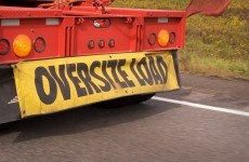 Warning over 'abnormal loads' on some roads this week