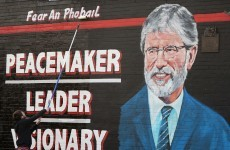 """The dark side fear him"": McGuinness on Adams' arrest"