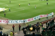 'We've Never Walked Alone' - Liverpool fans thank Celtic for Hillsborough support